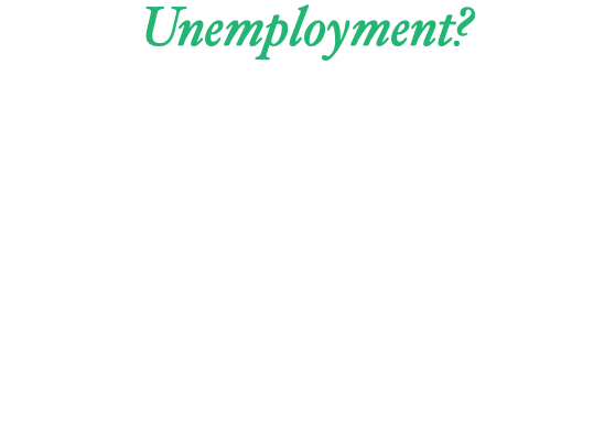 Unemployment? It happens to the best of us. Sometimes we get laid off. Sometimes we lack transportation resulting in us being fired from arriving late. Sometimes the job that we have isn't the best fit. It happens. When it happens, where do we turn to? How do we rebound?