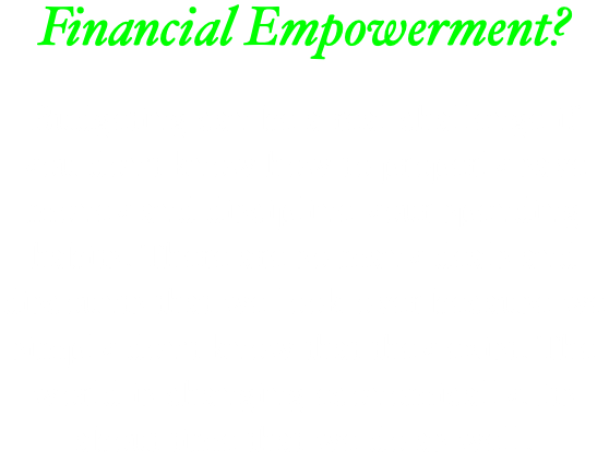 Financial Empowerment? Budgeting can be a real challenge if you don't know how to properly save money and discipline your spending habits. There are so many deals and discounts that we look over because we simply don't know that they exist. The world is changing economically. Its about time that we do as well.